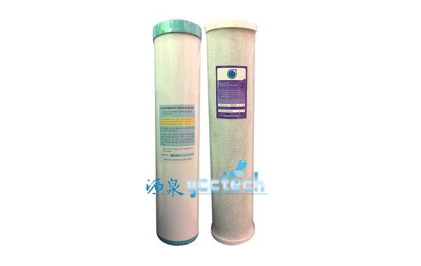 【源泉淨水】台製20英吋大胖全屋戶式水塔淨化設備過濾淨水器UDF活性碳濾心+CTO活性碳濾心 1